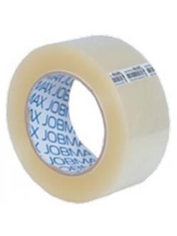 Клейкая лента упаковочная JOBMAX, 48ммx200ярдовх40мкм, прозрачная